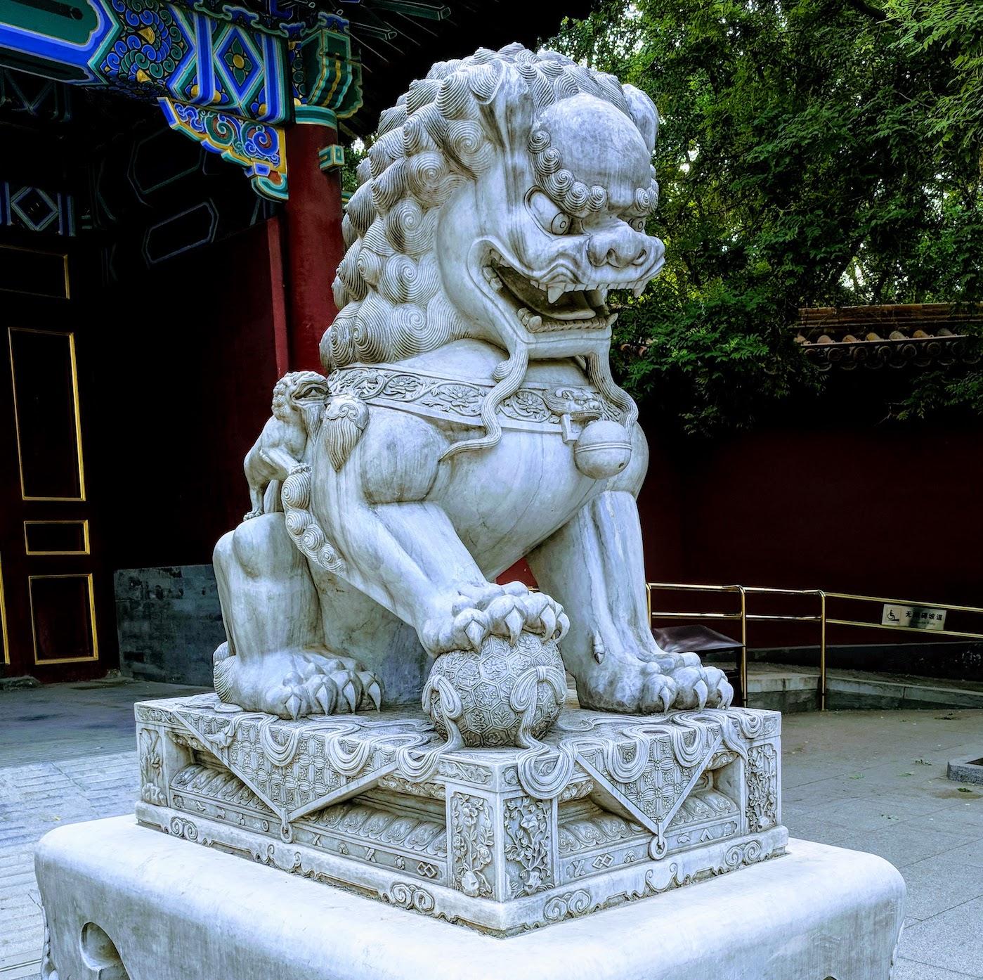 Guarding Dragon